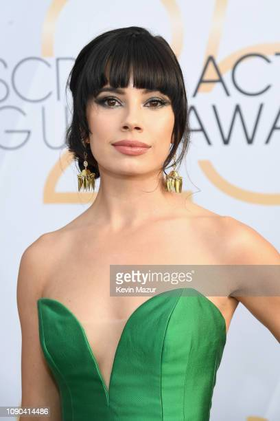 Jenna Lyng Adams attends the 25th Annual Screen ActorsGuild Awards at The Shrine Auditorium on January 27 2019 in Los Angeles California 480568