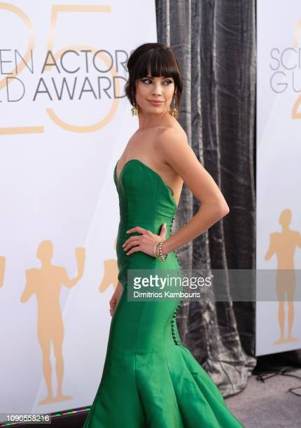 Jenna Lyng Adams attends the 25th Annual Screen ActorsGuild Awards at The Shrine Auditorium on January 27 2019 in Los Angeles California 480595