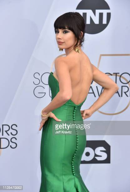 Jenna Lyng Adams attends the 25th Annual Screen ActorsGuild Awards at The Shrine Auditorium on January 27 2019 in Los Angeles California
