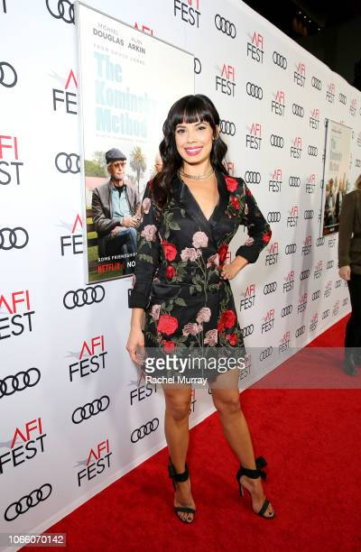 Jenna Lyng Adams attends the Los Angeles Premiere of 'The Kominsky Method ' at AFI Fest at TCL Chinese Theatre on November 10 2018 in Hollywood...