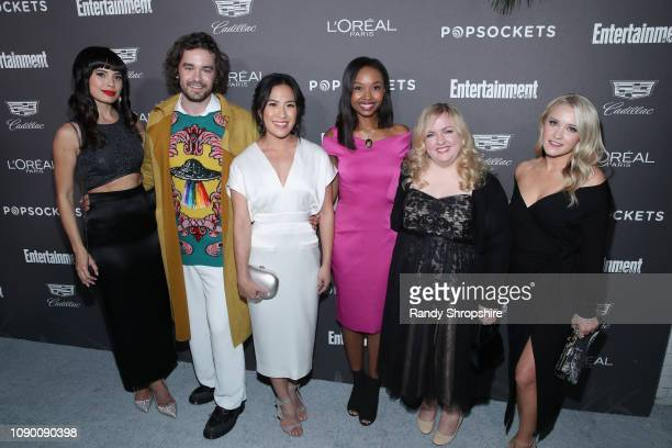 Jenna Lyng Adams Casey Thomas Brown Melissa Tang Ashleigh LaThrop Sarah Baker AND Emily Osment attend Entertainment Weekly Celebrates Screen Actors...