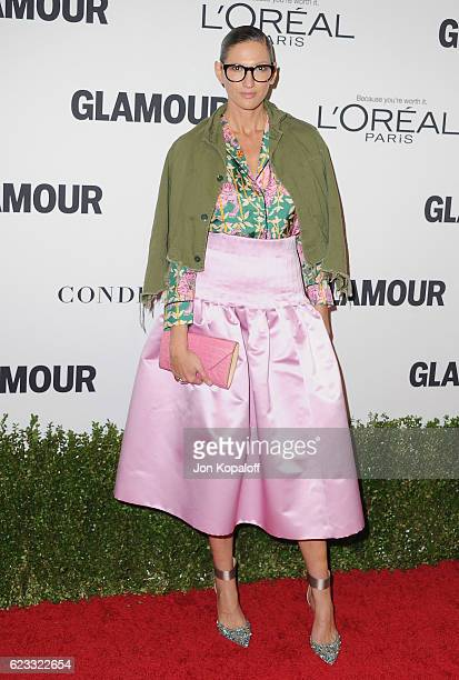 Jenna Lyons arrives at Glamour Women Of The Year 2016 at NeueHouse Hollywood on November 14 2016 in Los Angeles California
