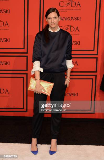 Jenna Lyons attends 2013 CFDA Fashion Awards at Alice Tully Hall on June 3 2013 in New York City