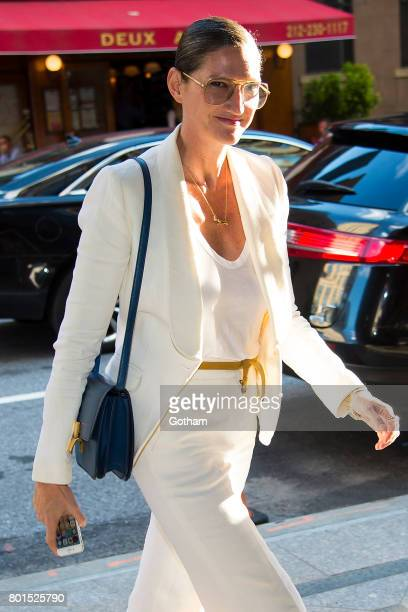 Jenna Lyons attends a dinner honoring Anna Wintour on June 26 2017 in New York City