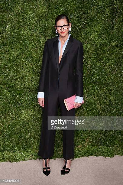 Jenna Lyons attends the 12th annual CFDA/Vogue Fashion Fund Awards at Spring Studios on November 2 2015 in New York City