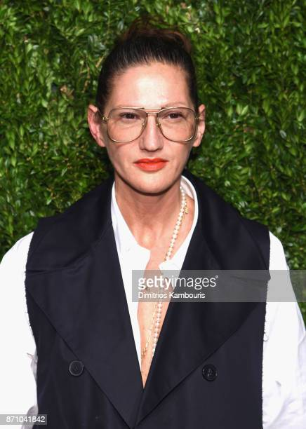 Jenna Lyons attends the 14th Annual CFDA/Vogue Fashion Fund Awards at Weylin B Seymour's on November 6 2017 in the Brooklyn borough of New York City...