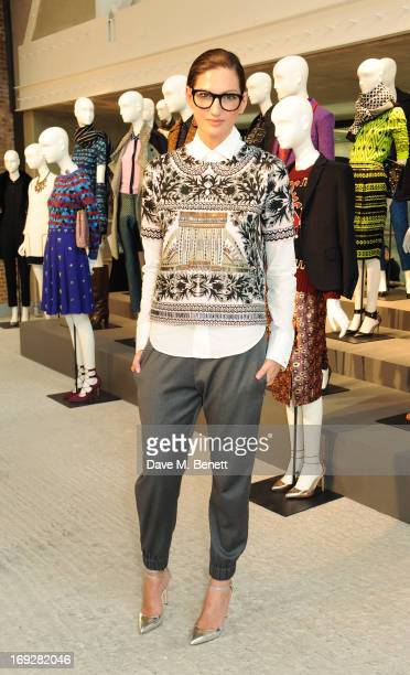 Jenna Lyons attends the JCrew concept store to launch their partnership with Central Saint Martins College Of Arts And Design at The Stables on May...