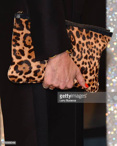 Jenna Lyons fashion detail attends the 2015 CFDA Fashion Awards at Alice Tully Hall at Lincoln Center on June 1 2015 in New York City