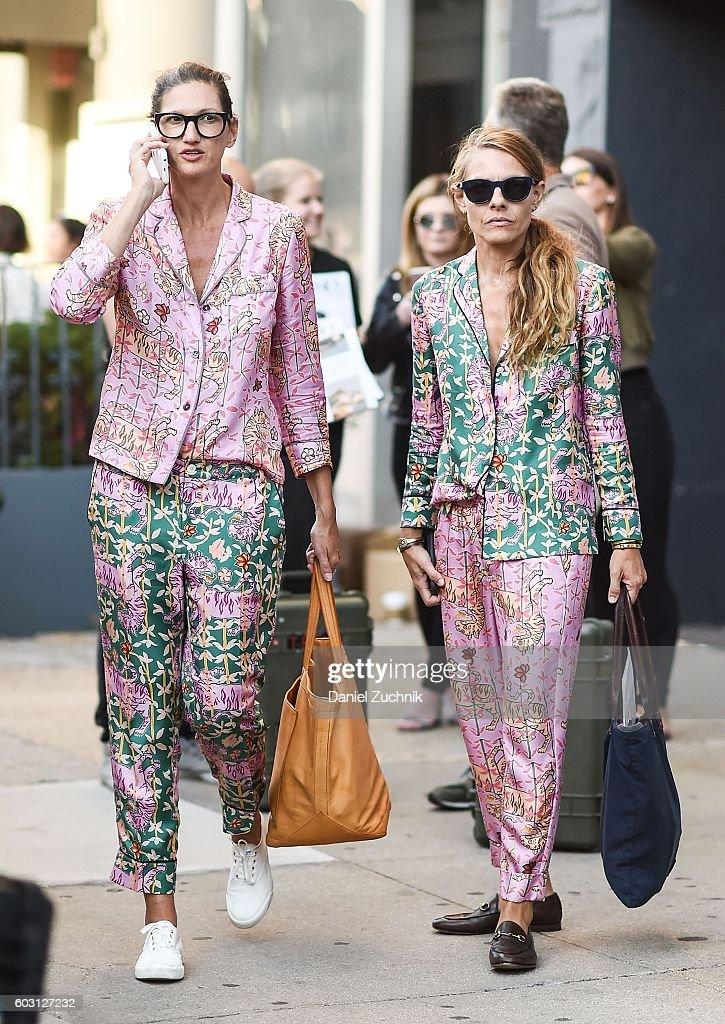 e9ee28e99b69 Street Style - September 2016 New York Fashion Week - Day 4   News Photo
