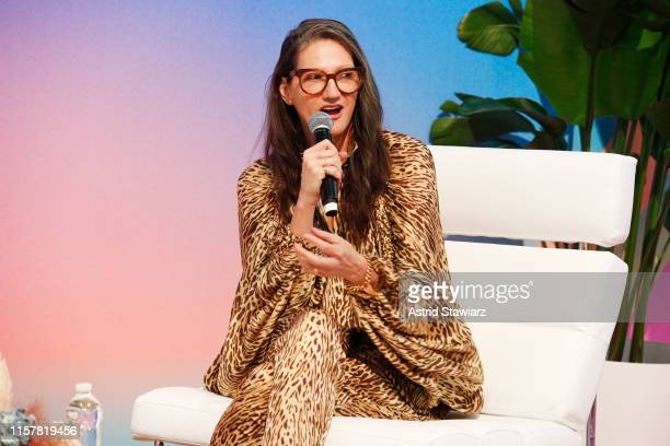 Jenna Lyons speaks during POPSUGAR Play/Ground at Pier 94 on June 23, 2019 in New York City.