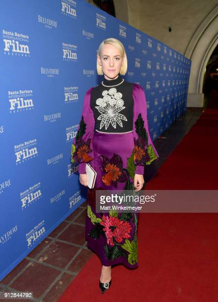Jenna Malone at the Opening Night Film 'The Public' Presented by Belvedere Vodka during the 33rd Santa Barbara International Film Festival at...