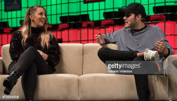 Jenna Marbles YouTube Star and Alfie Deyes YouTube Star Pointless Blog discuss with Mark Russell Managing Editor British Vogue about 'Cult of...