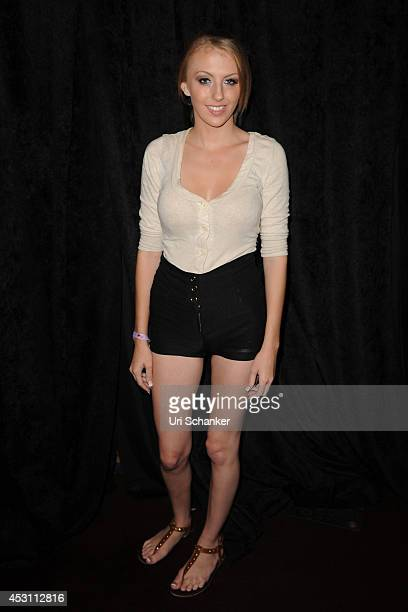 Jenna Marie attends Camming Con In South Beach at Eden Roc Hotel on August 2 2014 in Miami Beach Florida