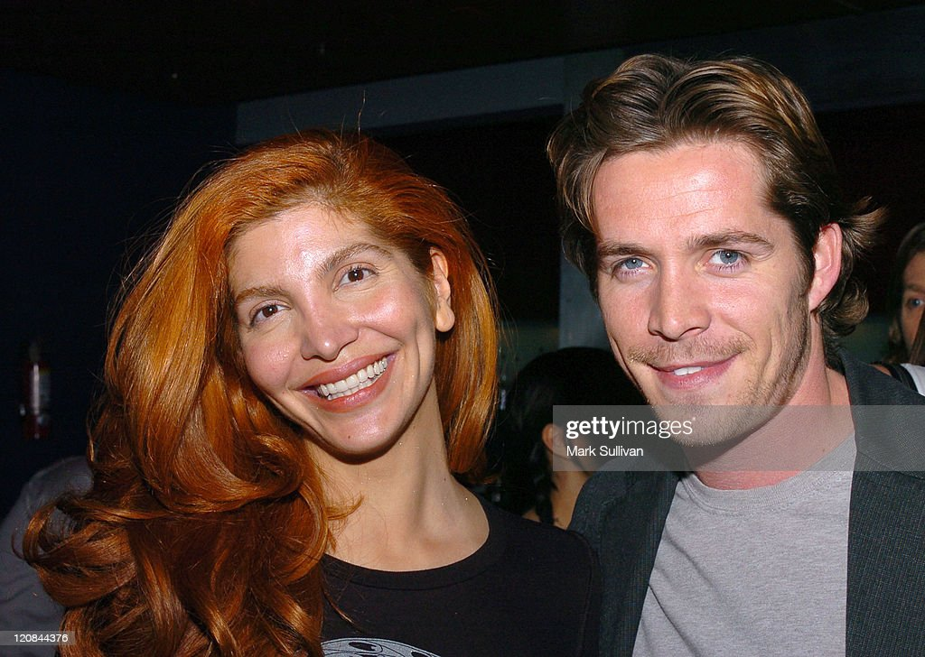 Jenna Mattison and Sean Maguire during 'The Third Wish' Private Screening in Los Angeles at CineSpace in Hollywood, California, United States.