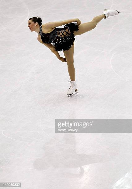 Jenna McCorkell of Great Britain performs during day four of the ISU World Figure Skating Championships on March 29 2012 in Nice France