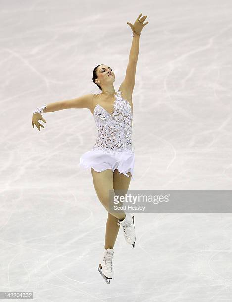 Jenna McCorkell of Great Britain performs during day six of the ISU World Figure Skating Championships on March 31 2012 in Nice France