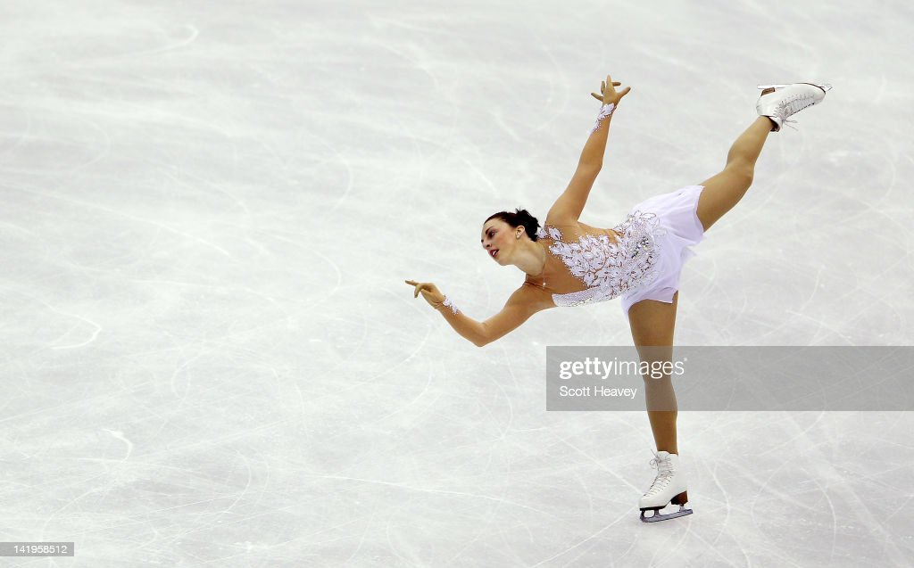 Jenna McCorkell of Great Britain performs during day two of the ISU World Figure Skating Championships on March 27, 2012 in Nice, France.