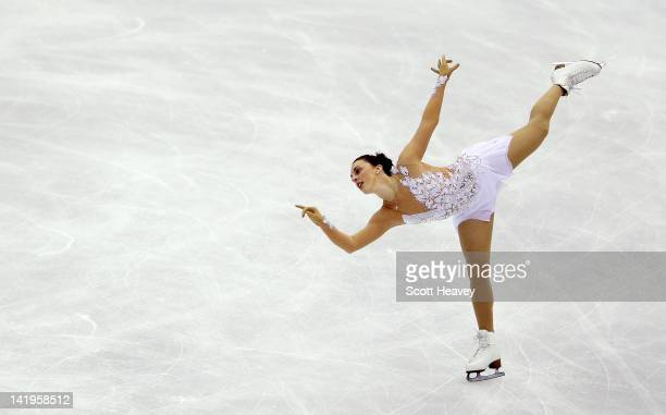 Jenna McCorkell of Great Britain performs during day two of the ISU World Figure Skating Championships on March 27 2012 in Nice France