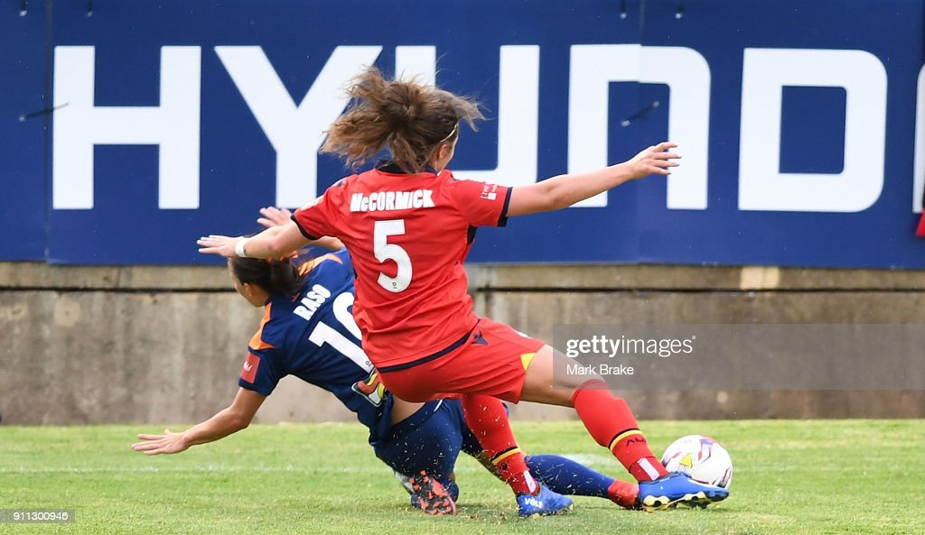 W-League Rd 13 - Adelaide v Brisbane : News Photo