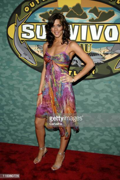 """Jenna Morasca during """"Survivor: Palau"""" Finale/Reunion Show - Arrivals at Ed Sullivan Theater in New York City, New York, United States."""