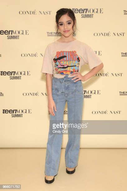 Jenna Ortega attends Teen Vogue Summit 2018: #TurnUp - Day 2 at The New School on June 2, 2018 in New York City.