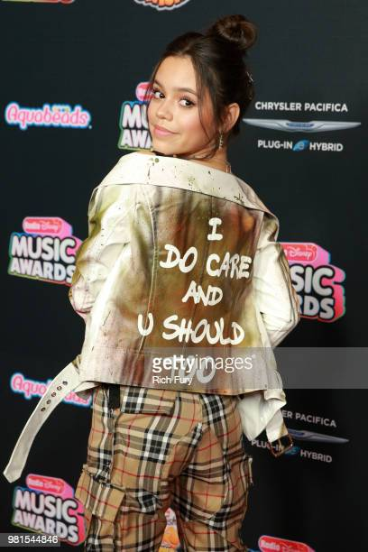 Jenna Ortega attends the 2018 Radio Disney Music Awards at Loews Hollywood Hotel on June 22 2018 in Hollywood California