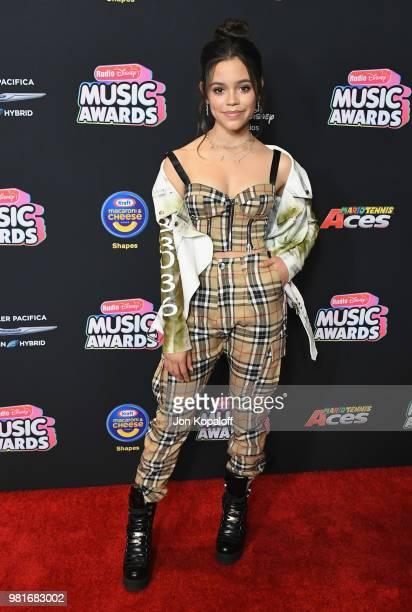 Jenna Ortega attends the 2018 Radio Disney Music Awards at Loews Hollywood Hotel on June 22 2018 in Hollywood California