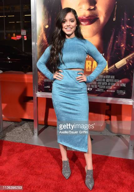 Jenna Ortega attends the premiere of Columbia Pictures' 'Miss Bala' at Regal LA Live Stadium 14 on January 30 2019 in Los Angeles California