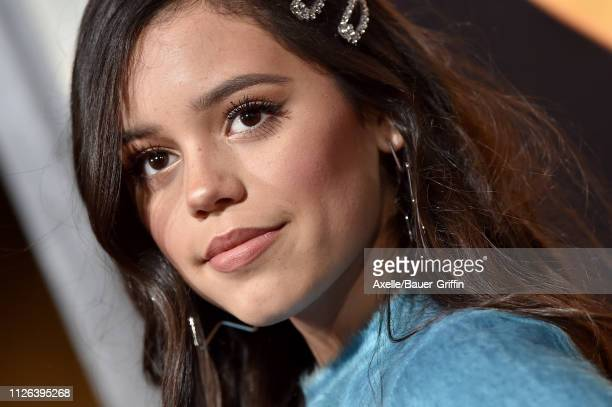 Jenna Ortega attends the premiere of Columbia Pictures' 'Miss Bala' at Regal LA Live Stadium 14 on January 30, 2019 in Los Angeles, California.