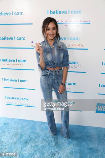 Jenna Ortega attends WE Day California at The Forum on April 19 2018 in Inglewood California