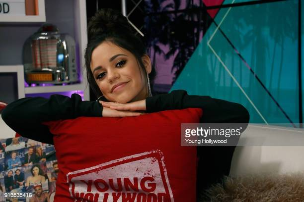 Jenna Ortega visits the Young Hollywood Studio on February 2 2017 in Los Angeles California