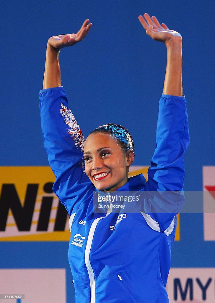 Synchronized Swimming - 15th FINA World Championships: Day One : News Photo