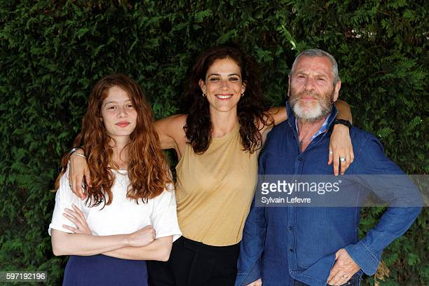 Jenna Thiam Caroline DeruasGarrel and Tcheky Kario attend 9th Angouleme FrenchSpeaking Film Festival on August 28 2016 in Angouleme France