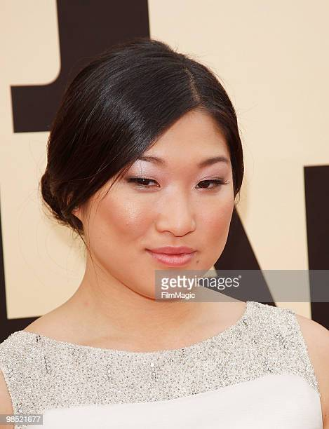 Jenna Ushkowitz arrives to the 8th Annual TV Land Awards held at Sony Pictures Studios on April 17 2010 in Culver City California