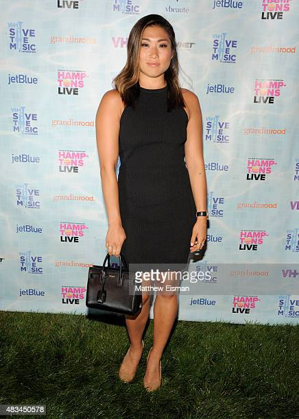 "Jenna Ushkowitz at VH1 Save The Music Foundation's ""Hamptons Live"" benefit hosted by Billy and Julie Macklowe at a private estate in Sagaponack, NY..."