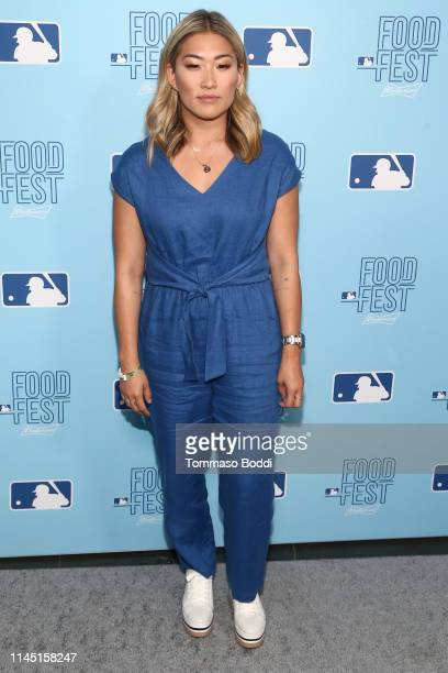 Jenna Ushkowitz attends the 2019 MLB FoodFest Special VIP Preview Night at Magic Box on April 25, 2019 in Los Angeles, California.