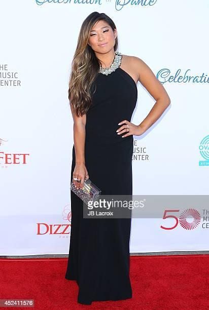 Jenna Ushkowitz attends the 4th Annual Celebration Of Dance Gala Presented By The Dizzy Feet Foundation at Dorothy Chandler Pavilion on July 19 2014...