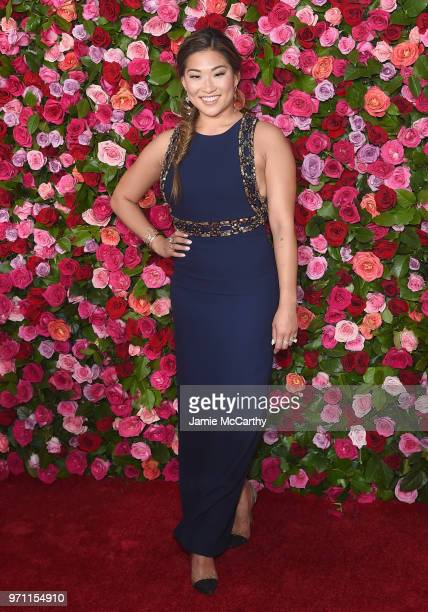 Jenna Ushkowitz attends the 72nd Annual Tony Awards at Radio City Music Hall on June 10, 2018 in New York City.