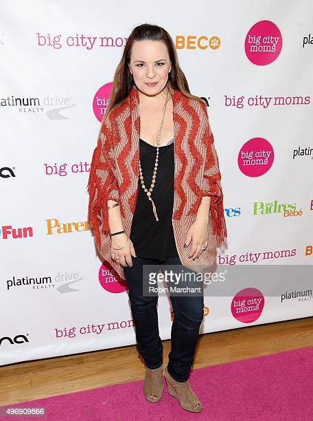 Jenna von Oy attends Big City Moms Biggest Baby Shower NYC at Metropolitan Pavilion on November 12 2015 in New York City