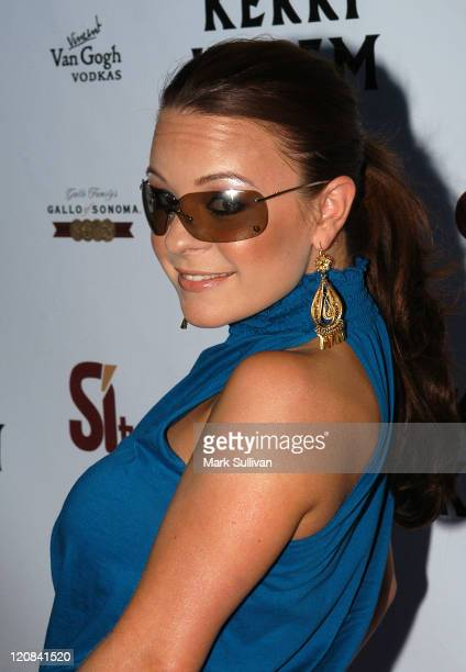 Jenna von Oy during Kerri Kasem Birthday Party at Brasserie Les Voyous in Hollywood California United States