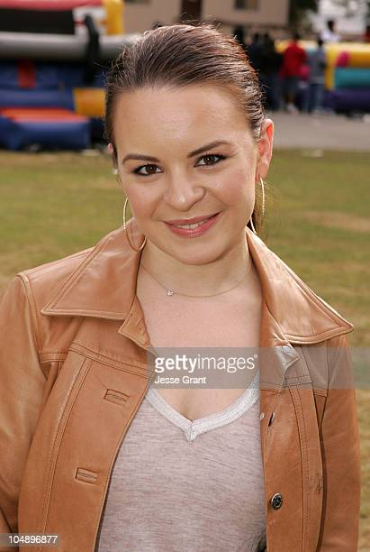 Jenna Von Oy during LAPD 2005 Holiday Toy Giveaway at LAPD Police Academy in Los Angeles California United States