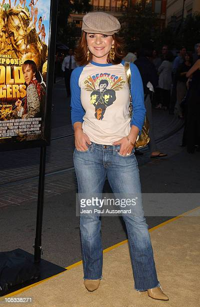 Jenna Von Oy during National Lampoon's Gold Diggers Premiere Arrivals at The Grove Stadium 14 in Los Angeles California United States