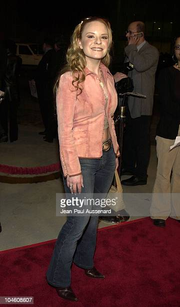 Jenna von Oy during National Lampoon's Van Wilder Premiere at Cinerama Dome Theater in Hollywood California United States