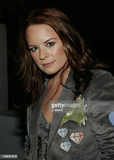 Jenna Von Oy during Pelle Pelle's Celebrity Catwalk for Charity Hosted by Nicole Richie Arrivals at The Paladium in Los Angeles California United...