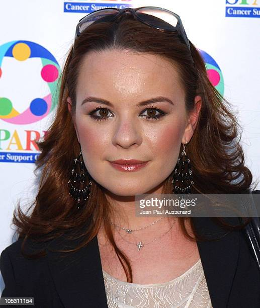 Jenna Von Oy during WeSparkle Night Take III to Benefit weSpark Cancer Support Center at Gindi Theater in Los Angeles California United States