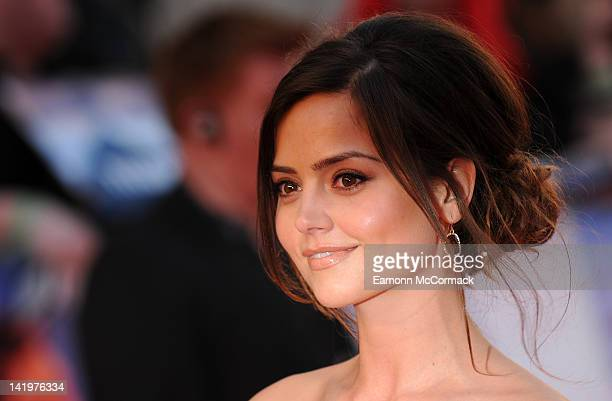 JennaLouise Coleman attends the world premiere of 'Titanic 3D' at Royal Albert Hall on March 27 2012 in London England