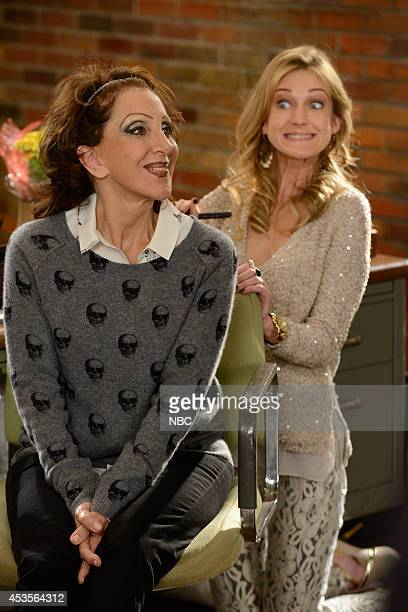 ENGELS 'Jenna's Presentation' Episode 103 Pictured Andrea Martin as Ceil Engel Azura Skye as Sandy EngelKarinsky
