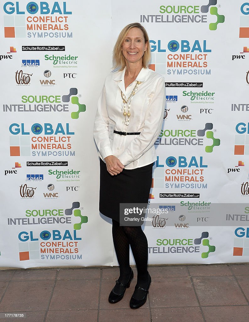 Jennefer Kraus of Source Intelligence attendS the Global Conflict Minerals Symposium Dinner Presented by Source Intelligence at Omni Los Angeles Hotel on August 21, 2013 in Los Angeles, California.