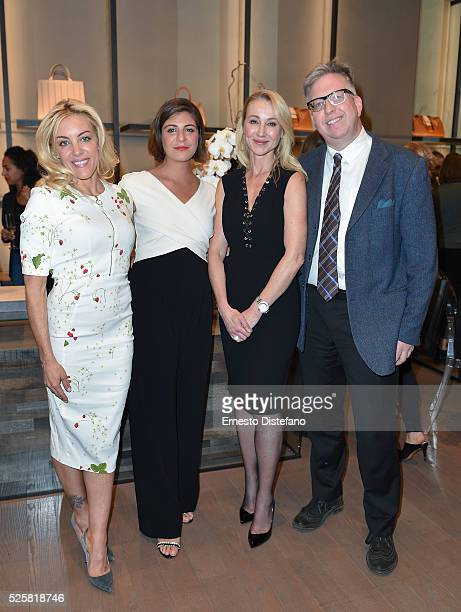 Jennen Phelan Maria Giulia Maramotti Belinda Stronach and John Matheson attend the Max Mara Celebrates Power Ball XVIII Pleasure Principle on April...