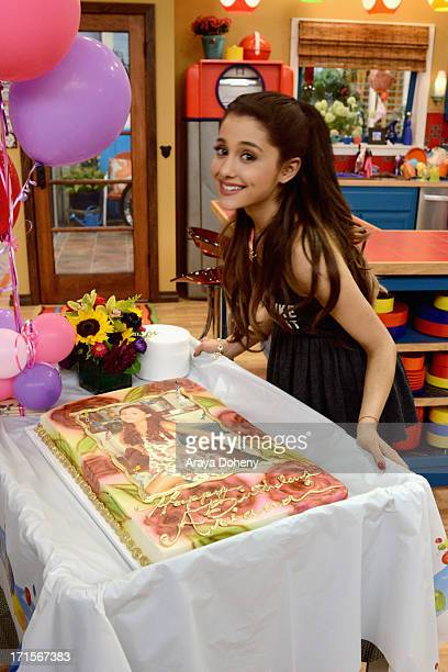 Jennette McCurdy and Ariana Grande celebrated their birthdays on the set of Nickelodeon's Sam Cat starring Jennette McCurdy and Ariana Grande on June...